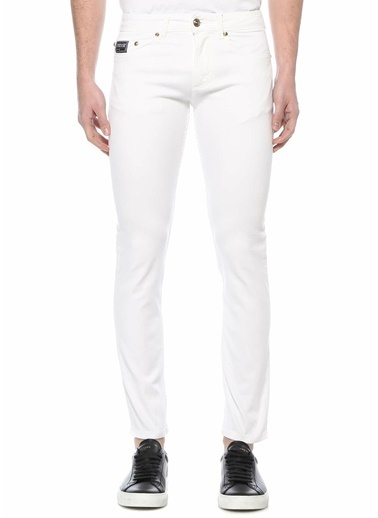 Versace Jean Pantolon Beyaz